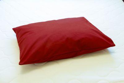 Tyynyliina Plain bordeaux punainen 50x60
