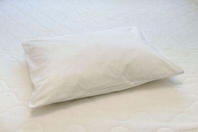 Tyynyliina Valkoinen satiini 50x60