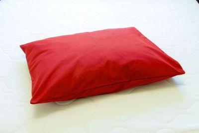 Puuvilla tyynyliina Bordo Red 50x60